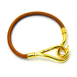 Hermes Metallic Leather Bracelet
