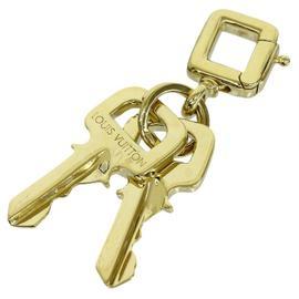 Louis Vuitton 18K Yellow Gold Key Motif Pendant