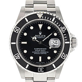 Rolex Submariner 16610 Z Serial 2006 Stainless Steel Watch