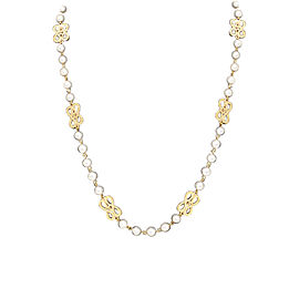 Chanel Metal Pearl Necklace