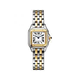 Cartier Panthere de W2PN0006 Stainless Steel / 18K Yellow Gold 22mm Womens Watch
