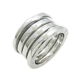 Bulgari B zero1 750 White Gold 4 Band Ring Size 5.75