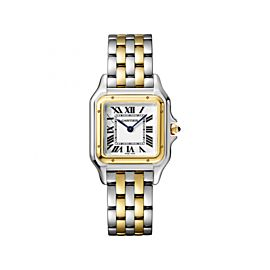 Cartier Panthere de W2PN0007 Stainless Steel / 18K Yellow Gold 27mm Womens Watch