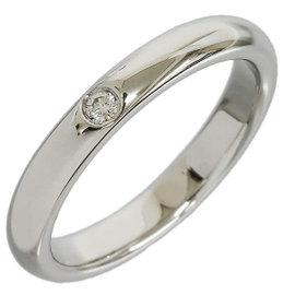 Tiffany And Co. Diamond Pt950 Platinum Ring