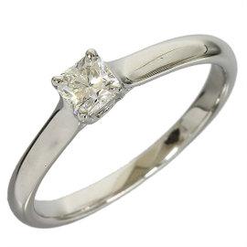 Tiffany And Co. Pt950 Platinium Lucida Diamond Ring
