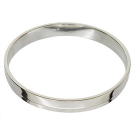 Gucci 925 Sterling Silver Bangle Bracelet