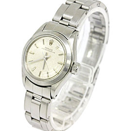 Rolex Oyster Perpetual 6618 Stainless Steel 25mm Watch