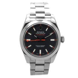 Rolex Milgauss 116400V Stainless Steel 40mm Watch