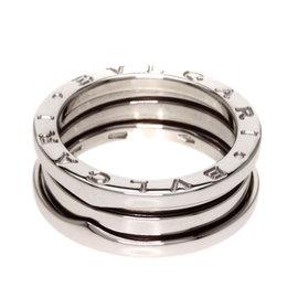 Bulgari 18K White Gold B-zero1 Ring Size 6.25