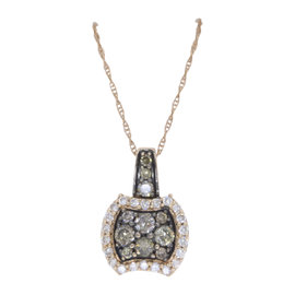 Levian 14K Rose Gold & 0.60ct. Diamond Necklace