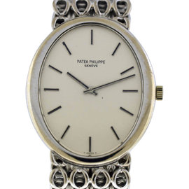 Patek Philippe Golden Ellipse 18K White Gold Watch