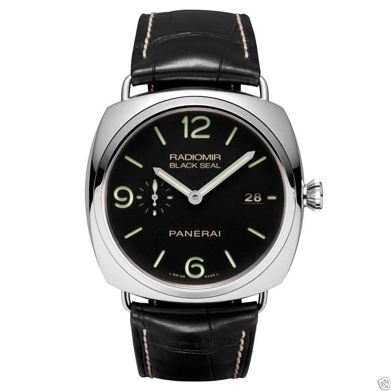 "Image of ""Panerai Steel Radiomir Black Seal 3 Days PAM 00388 45mm Watch"""