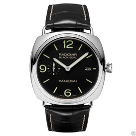 Panerai Steel Radiomir Black Seal 3 Days PAM 00388 45mm Watch