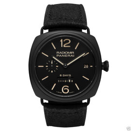 Panerai Pam384 Radiomir Ceramic 8-Days PAM 384 45mm Watch