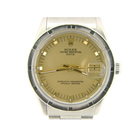 Rolex Date 15010 34mm Stainless Steel Watch