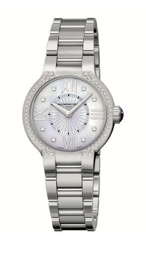 """Image of """"Raymond Weil 5932-Sts-00995 Noemia Diamond Stainless Steel Watch"""""""