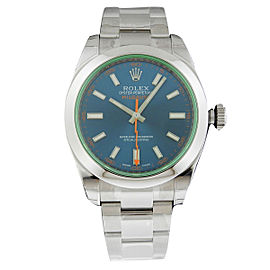 Rolex Milgauss 116400GV 40mm Stainless Steel Blue Dial Watch