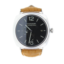 Panerai PAM323 Radiomir GMT 10 Day Automatic Stainless Steel Watch