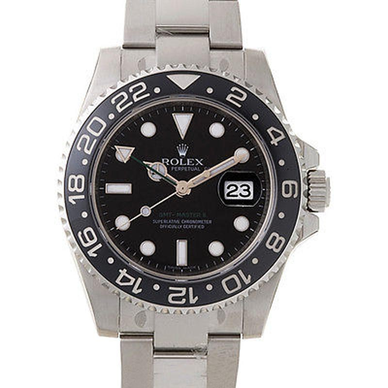 """Image of """"Rolex 116710 GMT Master II Steel Black Dial & Bezel Automatic 40mm"""""""
