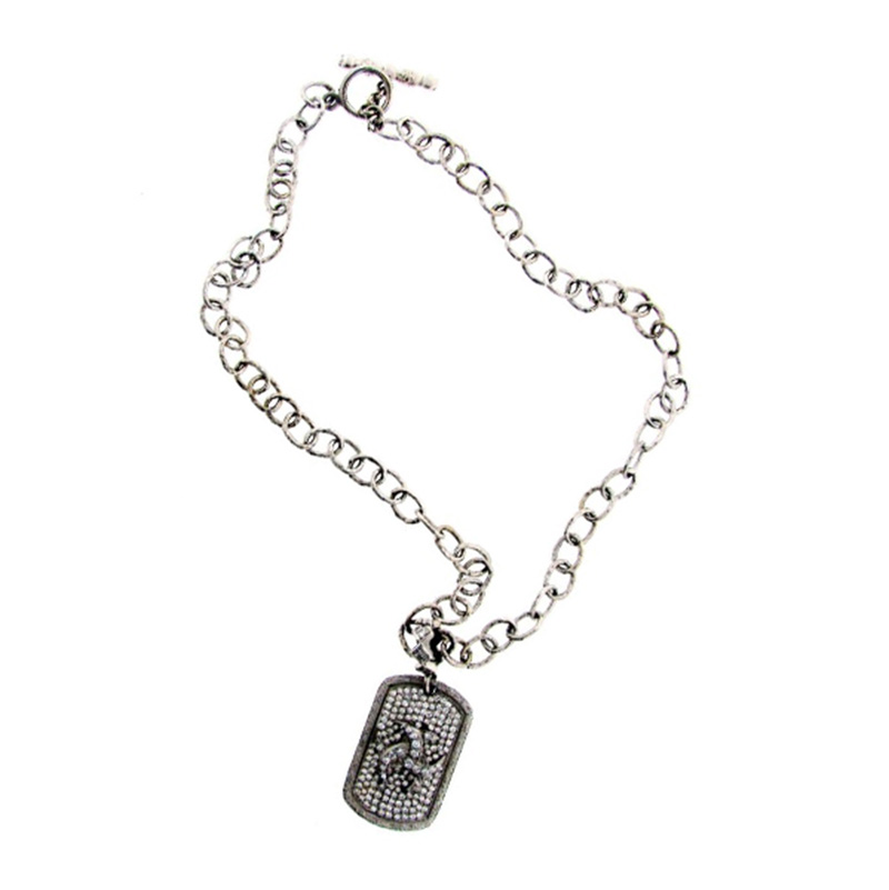 "Image of ""Loree Rodkin 18k White Gold & Diamond Necklace"""