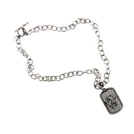 Loree Rodkin 18k White Gold & Diamond Necklace
