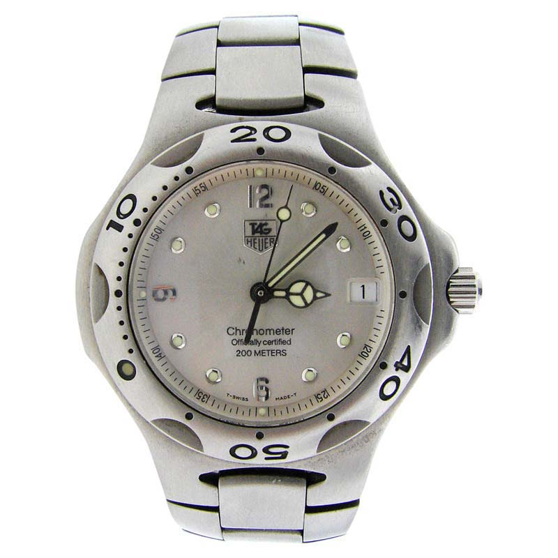 "Image of ""Tag Heuer Chronometer Wl5110 Stainless Steel Watch"""