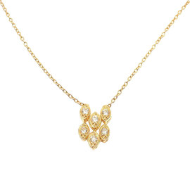Christian Dior 18K Yellow Gold & Diamond Necklace