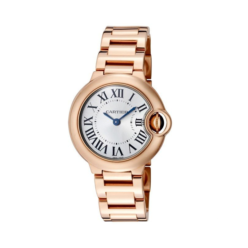 Cartier Ballon Bleu W69002Z2 18K Rose Gold Watch