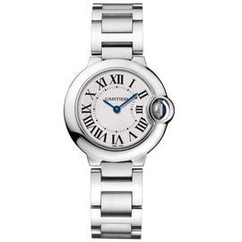 Cartier Ballon Bleu 28mm w69010z4 Stainless Steel Quartz Watch