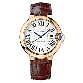 Cartier Ballon Bleu W6900456 18K Rose Gold Automatic 36mm Watch