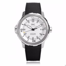 IWC Aquatimer IW329003 Automatic Silver Dial Black Rubber 42mm Mens Watch