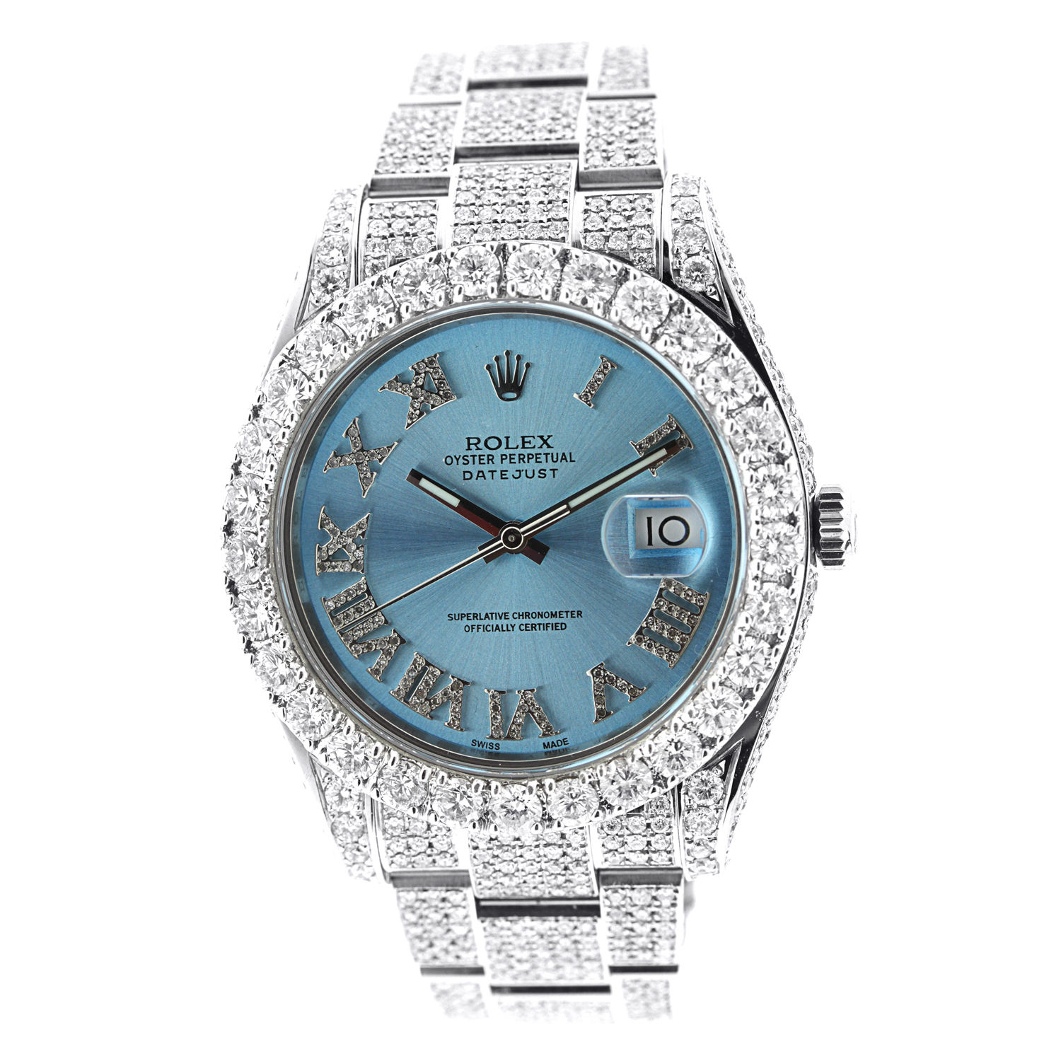 """Image of """"Rolex Date Just II 116300 Stainless Steel Watch"""""""