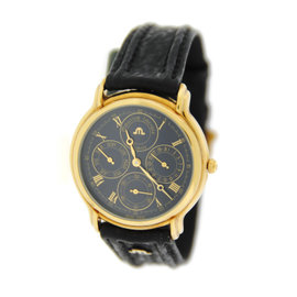 Maurice Lacroix 34996 Chronograph Two Tone Stainless Steel Watch