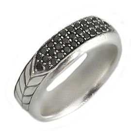 David Yurman Black Diamonds Chevron Pavé Band Ring