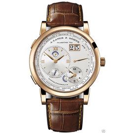 A. Lange & Sohne 116.032 Lange 1 Time Zone 18K Rose Gold 41.9mm Watch