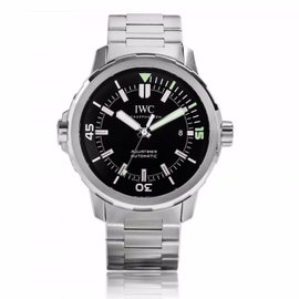 IWC Aquatimer Automatic 42mm 329002 Stainless Steel Black Dial Watch