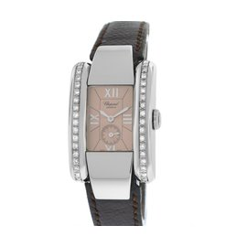 Rare Ladies Chopard La Strada 41/8357 Stainless Steel Quartz Watch