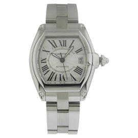 Cartier Roadster W62025V3 Automatic XL Stainless Steel Mens Watch