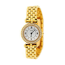Van Cleef & Arpels 18K Yellow Gold & Diamond Watch