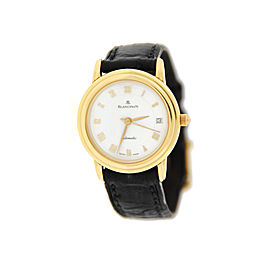 Blancpain Villeret Ultra Slim18K Yellow Gold Womens Watch