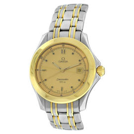 Omega Seamaster 18K Yellow Gold & Steel Watch