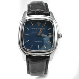 David Yurman T301-LST Thoroughbred Blue Automatic Stainless Steel Men's Watch