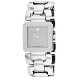 Movado 0606544 Luma Series Stainless Steel Womens Watch