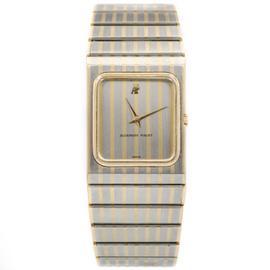 Audemars Piguet B69213 Two Tone Stainless Steel Gold Men's Quartz Watch