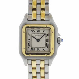 Cartier Panthere 1120 Two Tone Ladies Quartz Watch