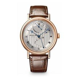 Breguet Classique 7727BR129WU Silver Dial 18K Rose Gold Watch