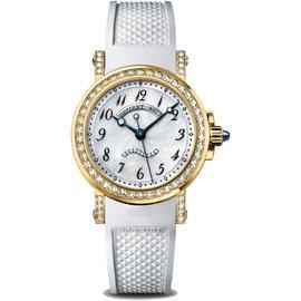 Breguet Marine 18K Yellow Gold Diamond 8818BA/59/564 DD00 Ladies Watch