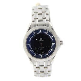 Omega 2521.81.00 Seamaster 120 Multifunction Digital Stainless Steel Watch