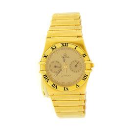 Omega Constellation Chronometer 18K Yellow Gold Mens Watch