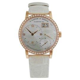 A. Lange & Sohne 813.047 Little Lange 1 Soiree Rose Gold 36.1mm Watch